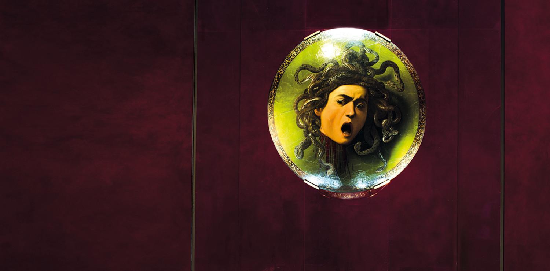 Caravaggio's Medusa Uffizi Gallery Firenze