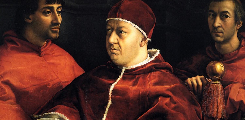 raffaello papa uffizi firenze mostra