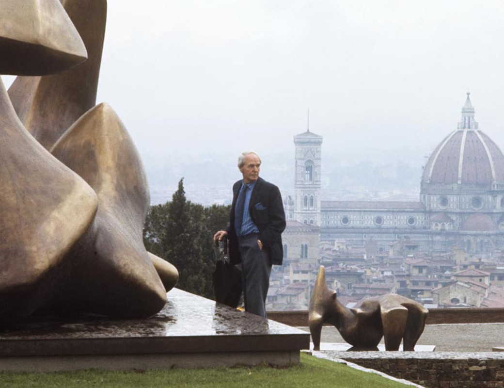 Henry Moore a Forte Belvedere