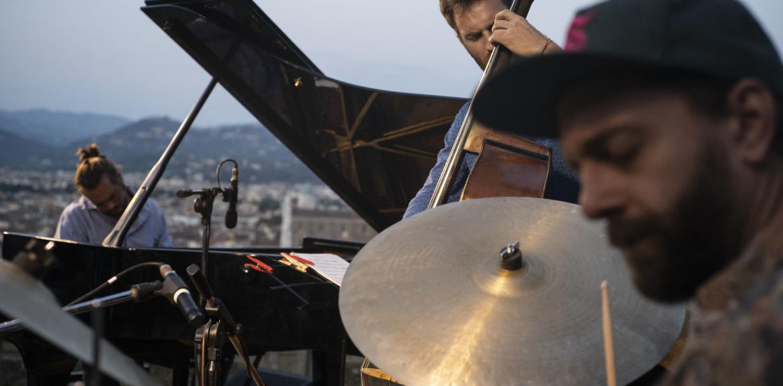 Firenze Jazz Festival 2020 Lanzoni Trio Villa Bardini - foto di Alessandro Cinque