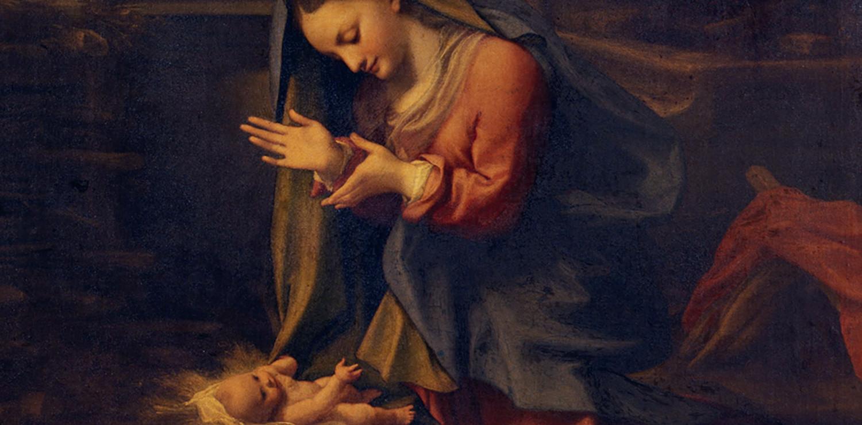 Adoration of the Christ Child - Correggio