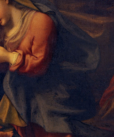 Adoration of the Christ Child - Correggio