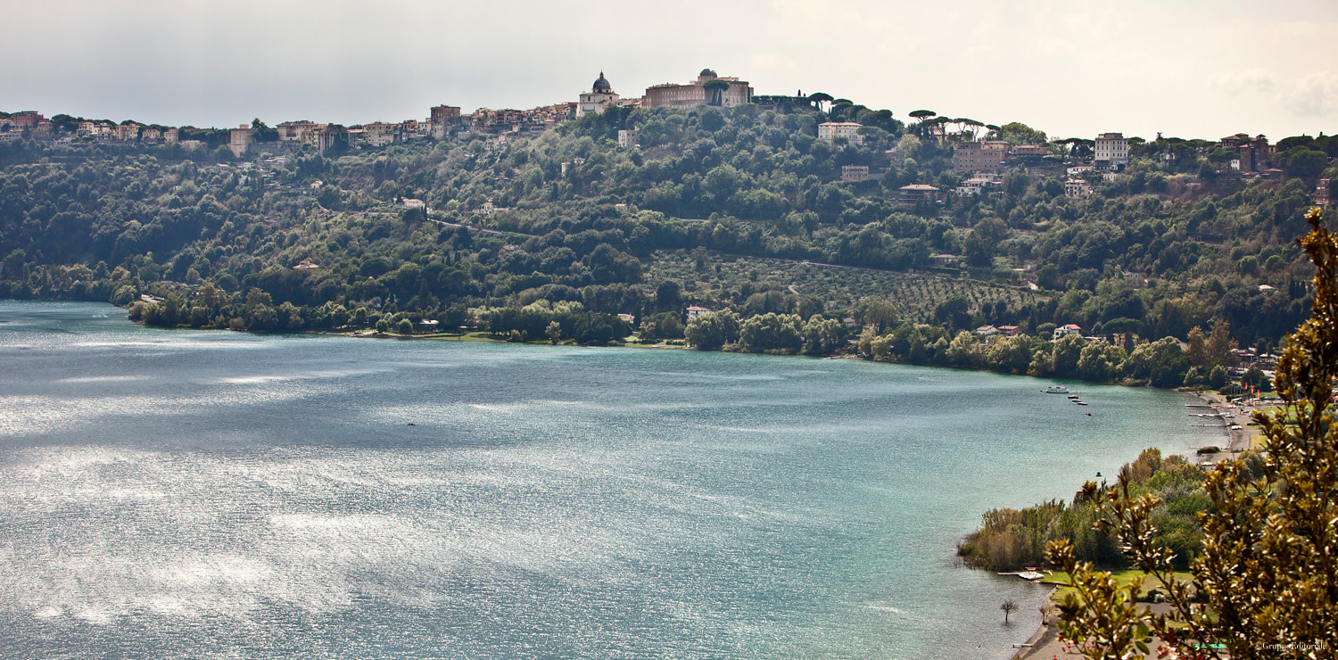 View on Castel Gandolfo