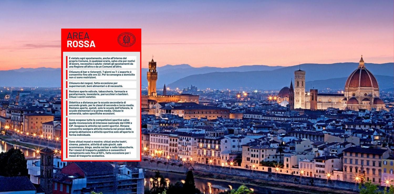 Firenze zona rossa cover