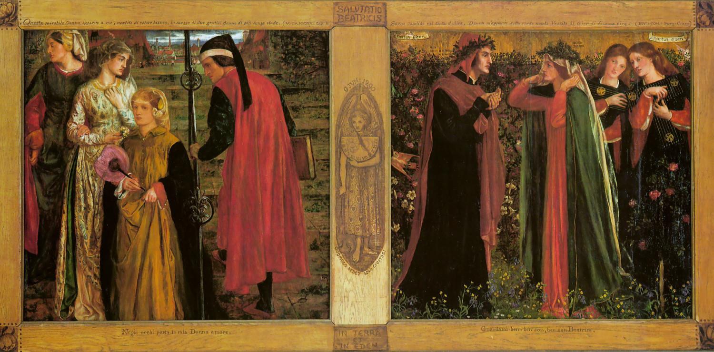 Dante Gabriel Rossetti - Salutation of Beatrice