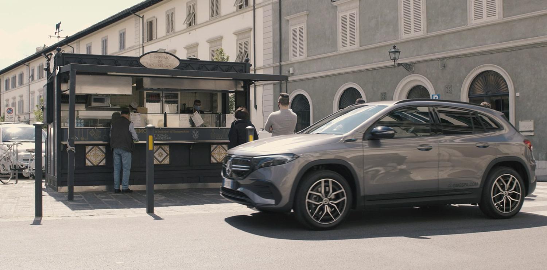 Mercedes alla scoperta dello street food fiorentino