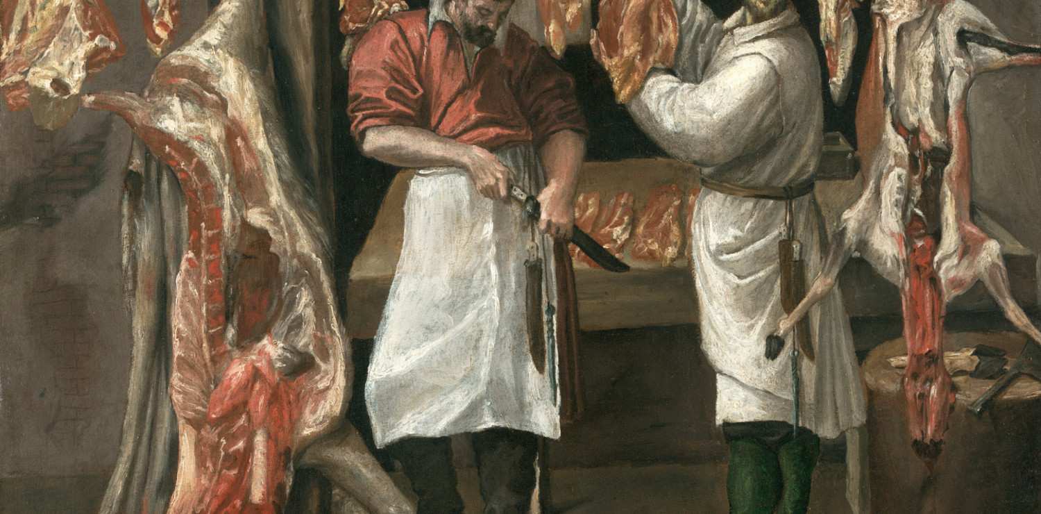 Annibale Carracci, Piccola Macelleria
