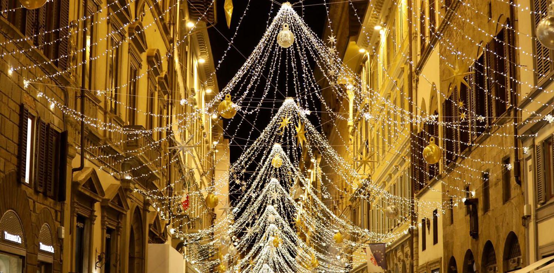 Luci Natale via de' Tornabuoni 2020