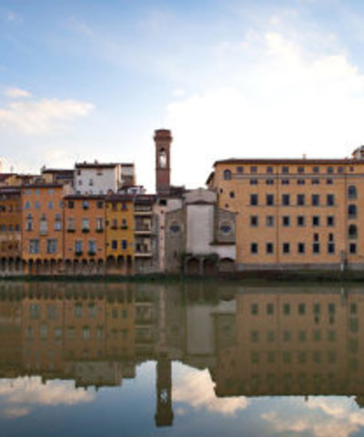 An Oltrarno view from Arno river - ph Dario Garofalo