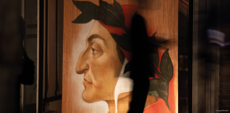 Ravenna, poster di Dante Alighieri, ph. Massimo-Sestini