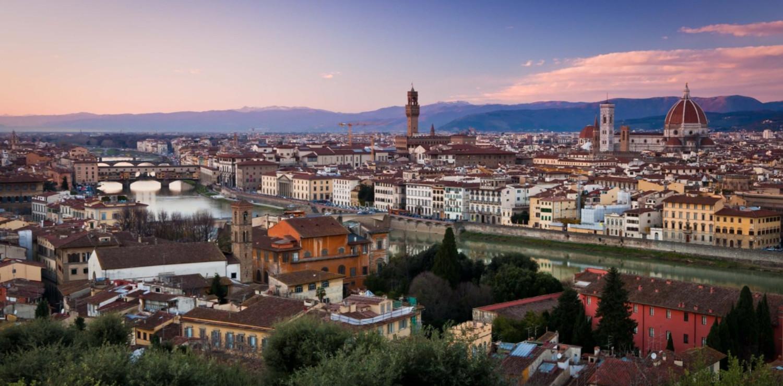 Tramonto dal Piazzale Michelangelo