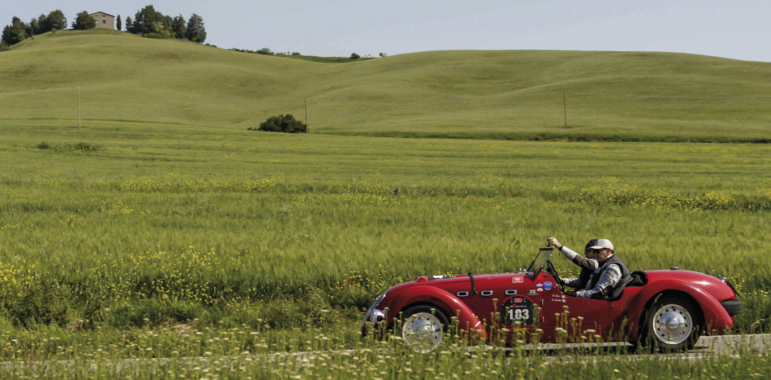 Mille Miglia Val d'Orcia