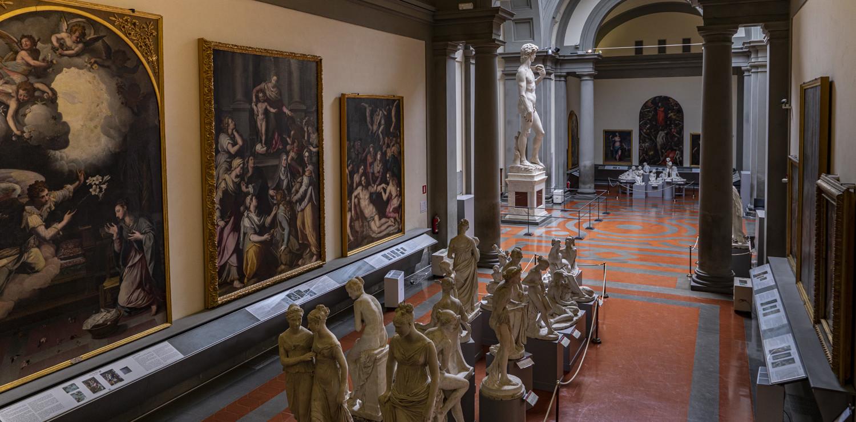 Galleria dell'Accademia di Firenze © Guido Cozzi