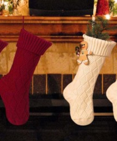 Stocking Befana fireplace - January 6