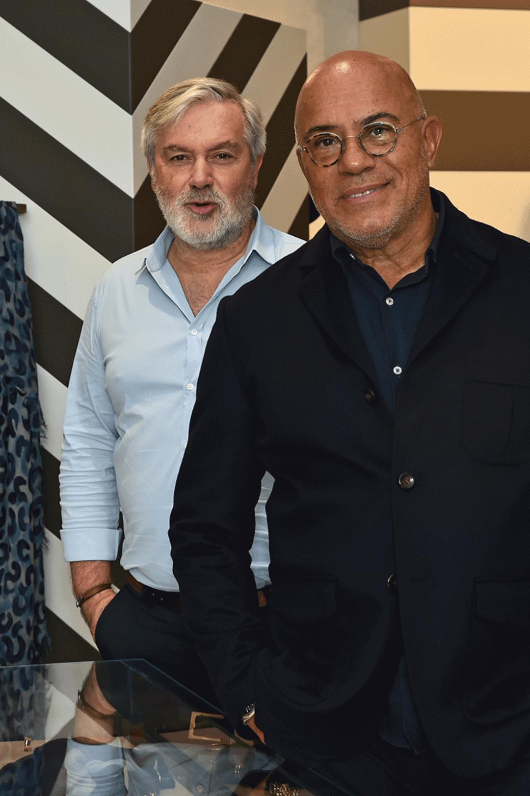Eduardo Wongvalle e Stefano Valori