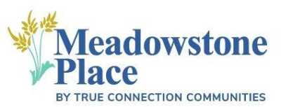 Meadowstone Place Senior Community logo