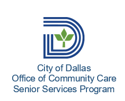 City of Dallas Office of Community Care/Senior Services Program logo