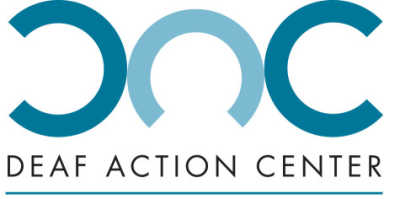 Deaf Action Center logo