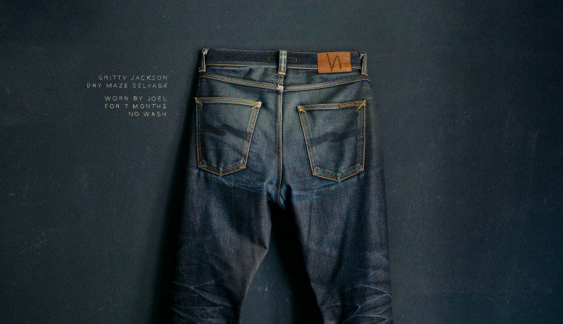 Maze Selvage. Worn by Joel.