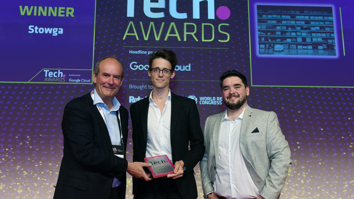 Supply Chain Disruptor award - Tech Retail Week