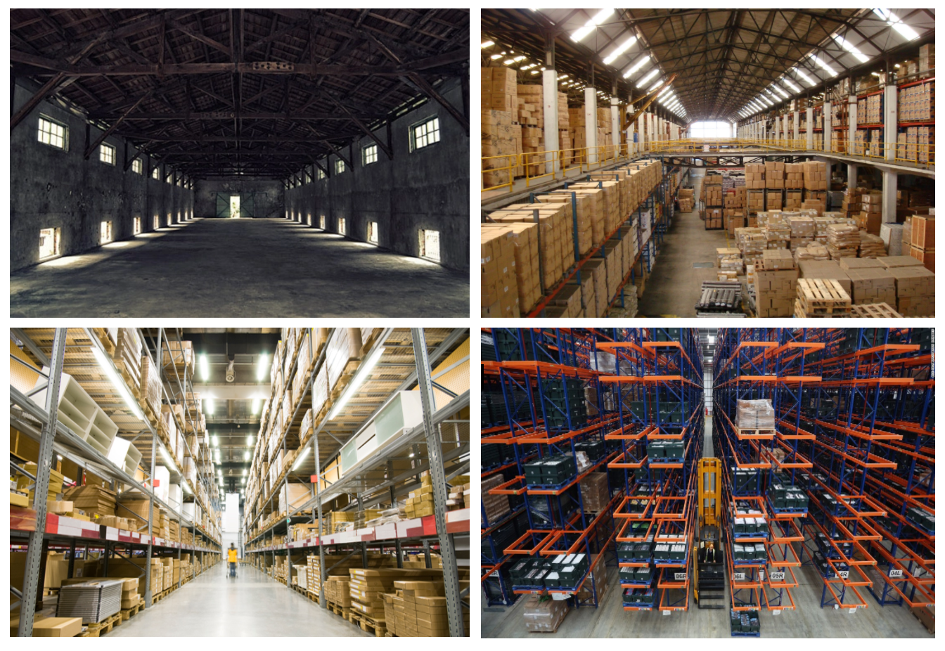 Evolution of Warehouses