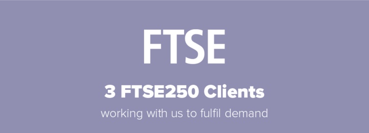 3 FTSE 250 clients signed up