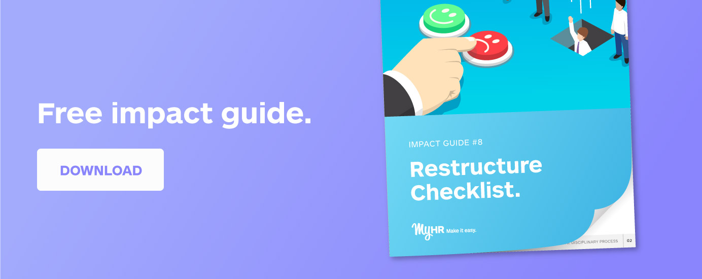 Free Impact Guide: Restructure Checklist