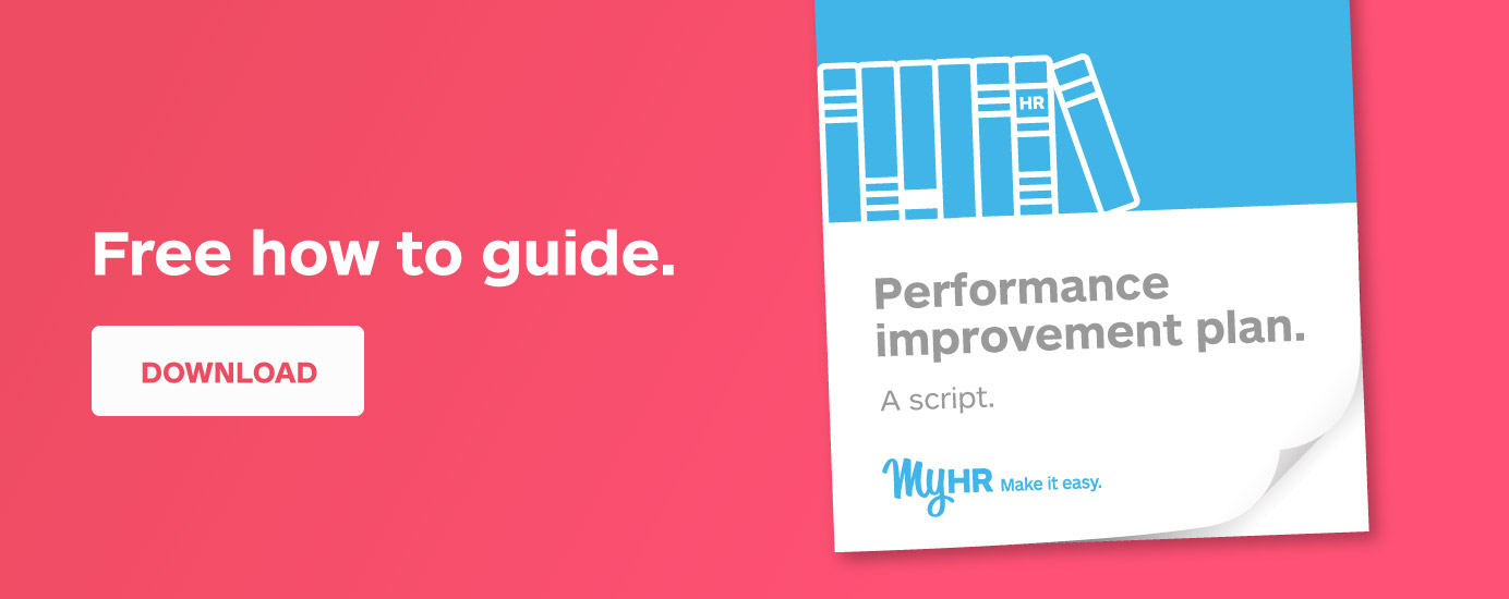 Free how to guide: Performance Improvement Plan