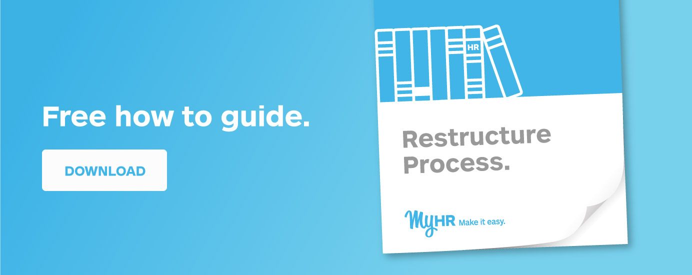 Free how to guide: Restructure process
