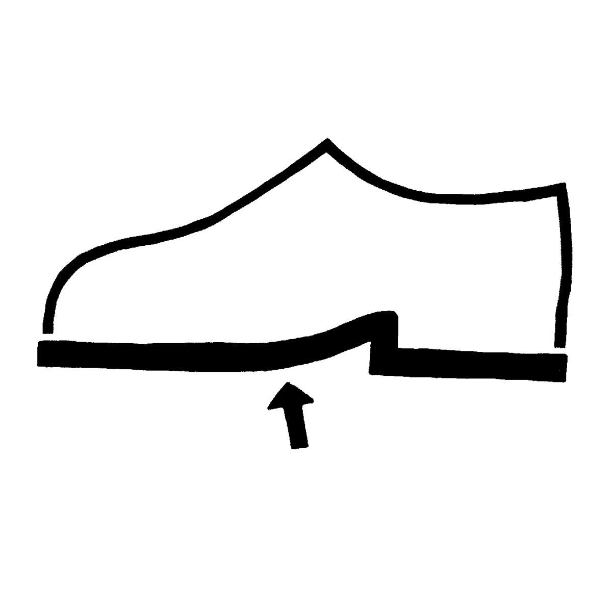 Schuhe - Laufsohle