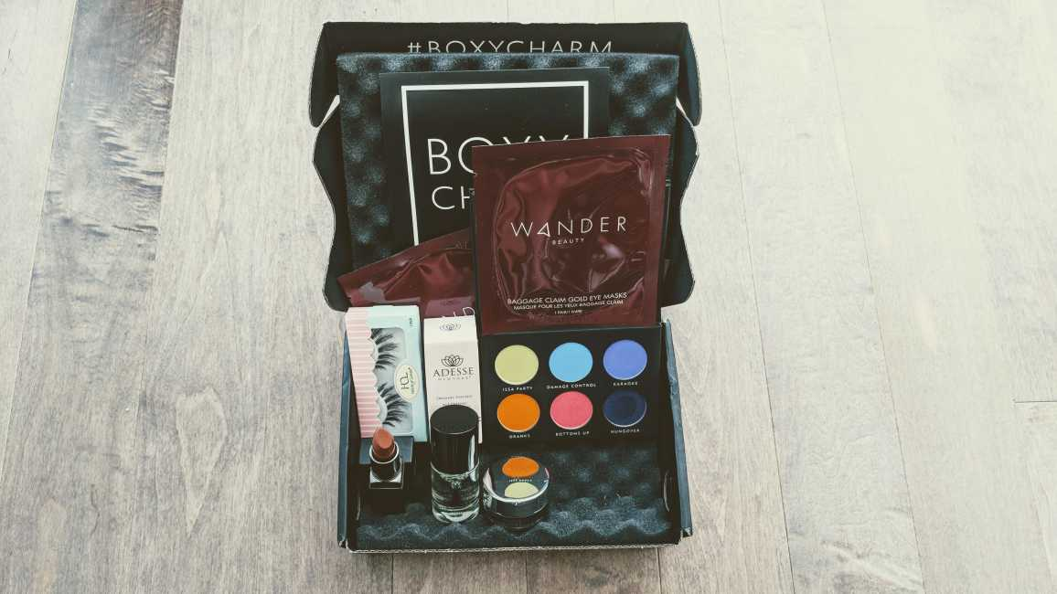 BOXYCHARM August 2018 Unboxing and Review