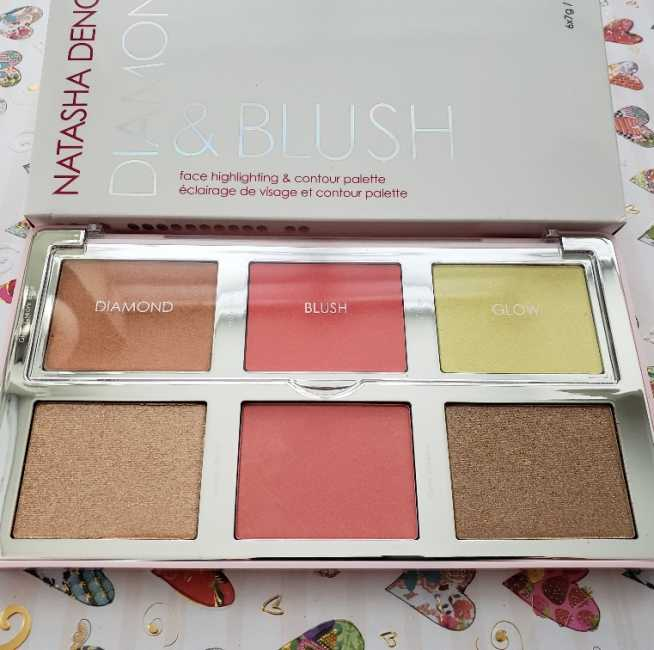 Natasha Denona Citrus Diamond & Blush Palette Review