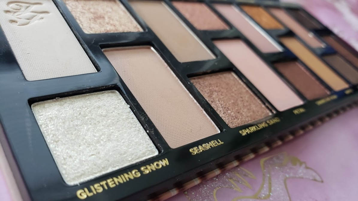 Too Faced Born This Way The Natural Nudes Complexion Inspired Eyeshadow Palette Review and Swatches