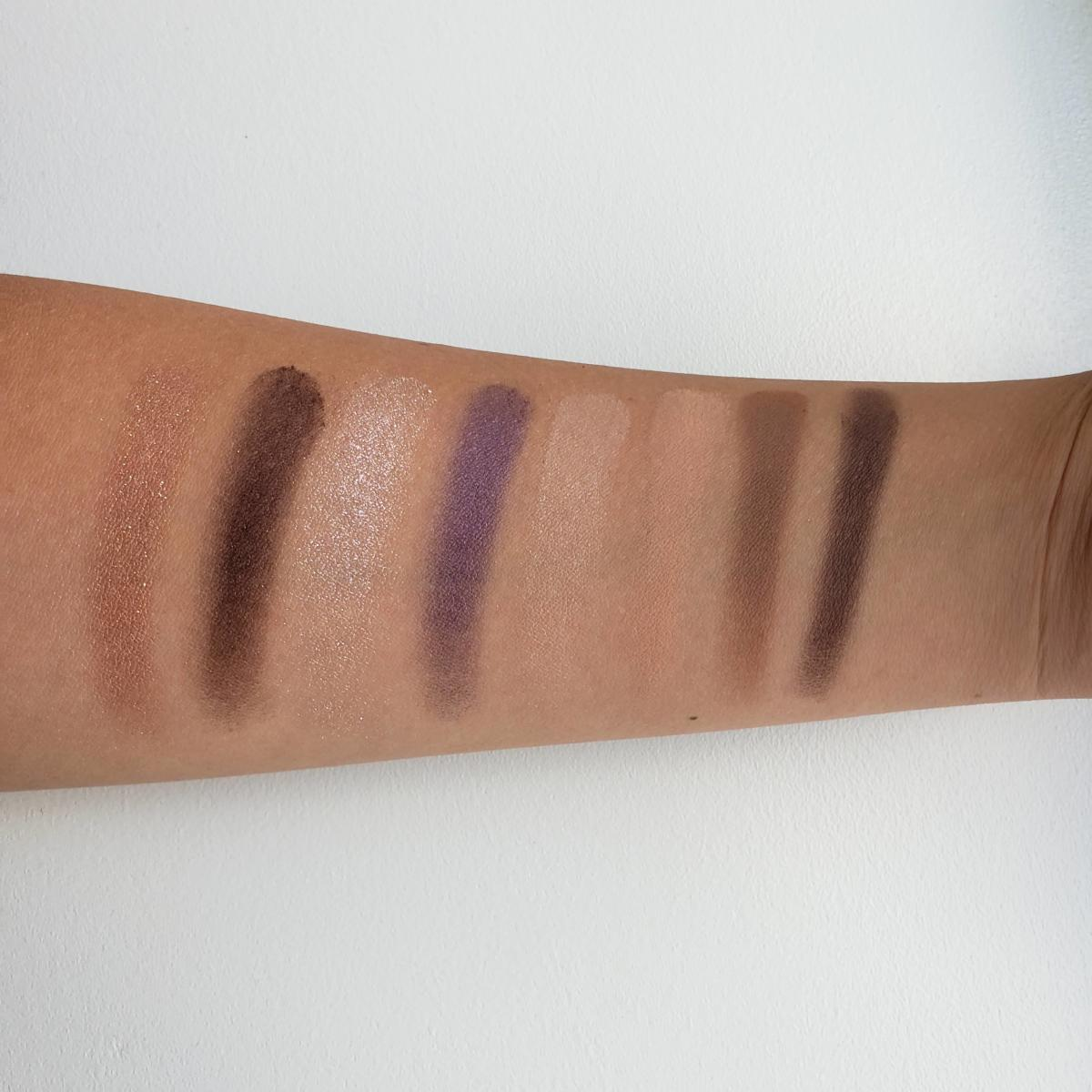 Urban Decay On The Run Mini Eyeshadow Palette In Shortcut And Bailout Review Swatches Bailout
