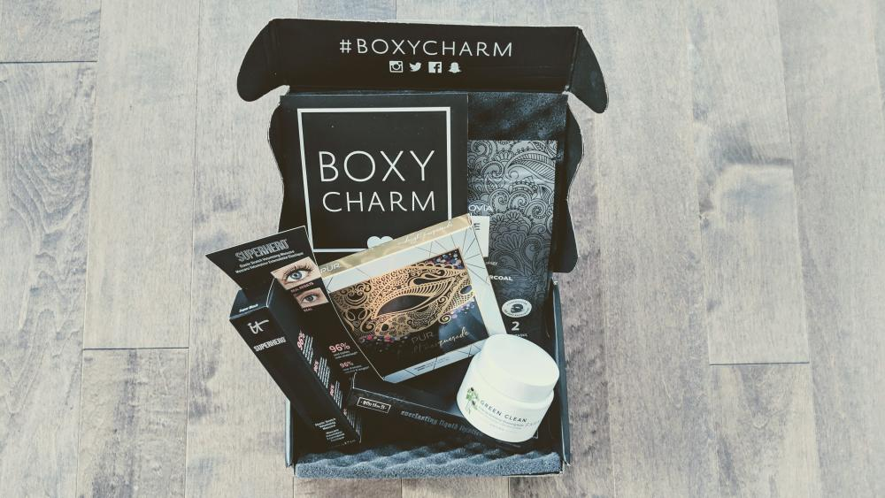 BOXYCHARM October 2018 Unboxing and Review