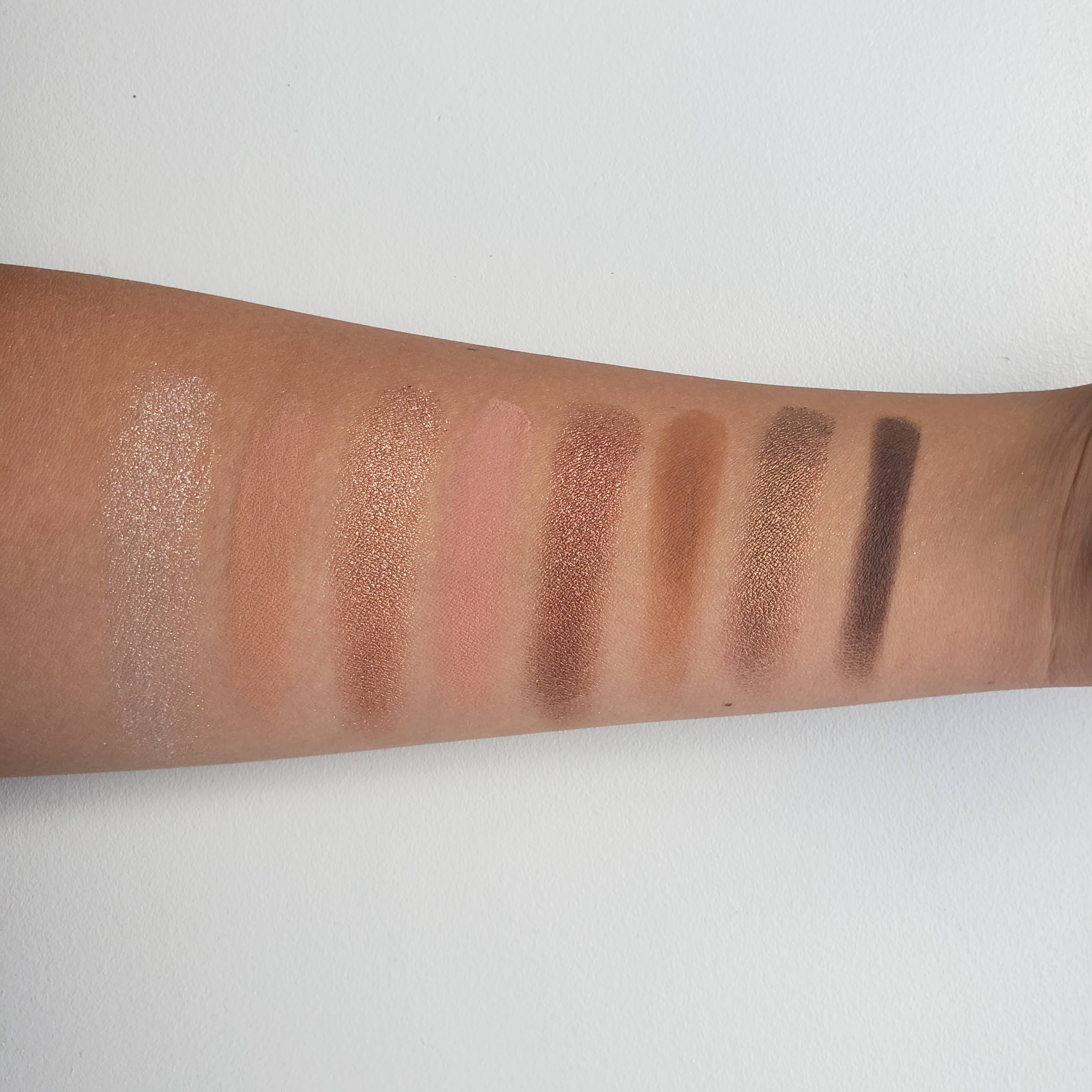 Too Faced Born This Way The Natural Nudes Complexion Inspired Eyeshadow Palette Review Swatches 2