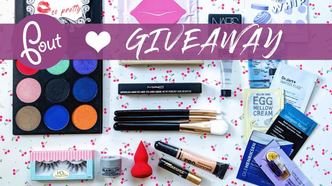 Pout So Pretty October 2018 Beauty GIVEAWAY!