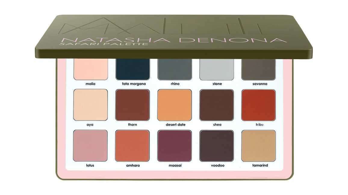 Natasha Denona Safari All Matte Eyeshadow Palette Release Date and Swatches