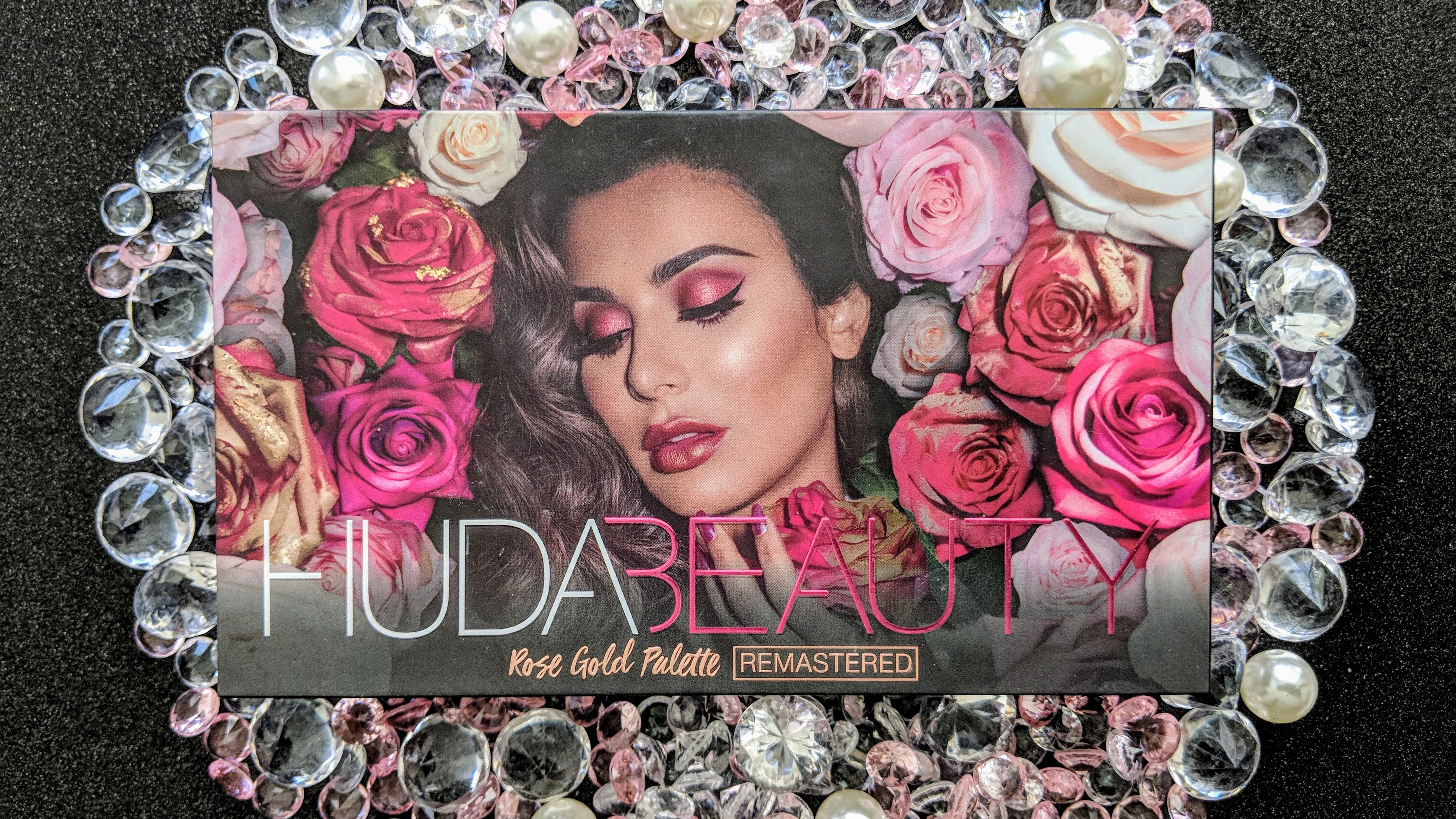 Huda Beauty Rose Gold Remastered Eyeshadow Palette Review Pout So