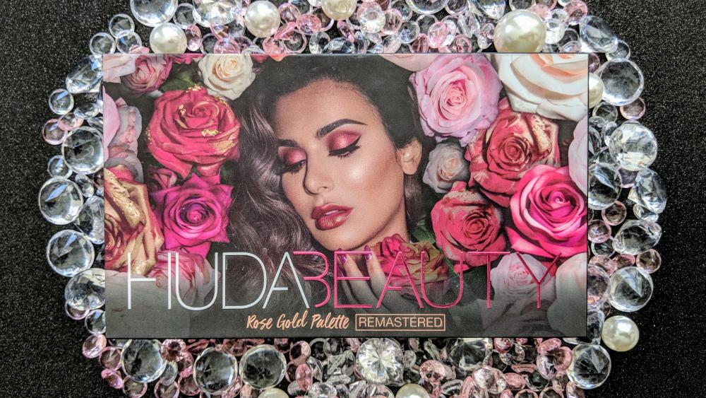 Huda Beauty Rose Gold REMASTERED Eyeshadow Palette Review