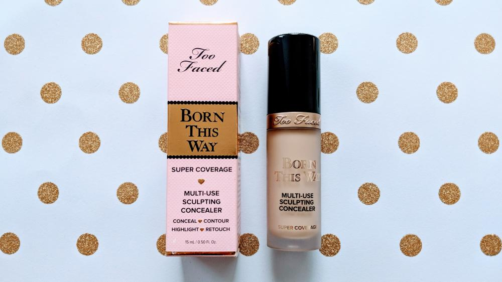 Too Faced Born This Way Super Coverage Multi-Use Sculpting Concealer Review