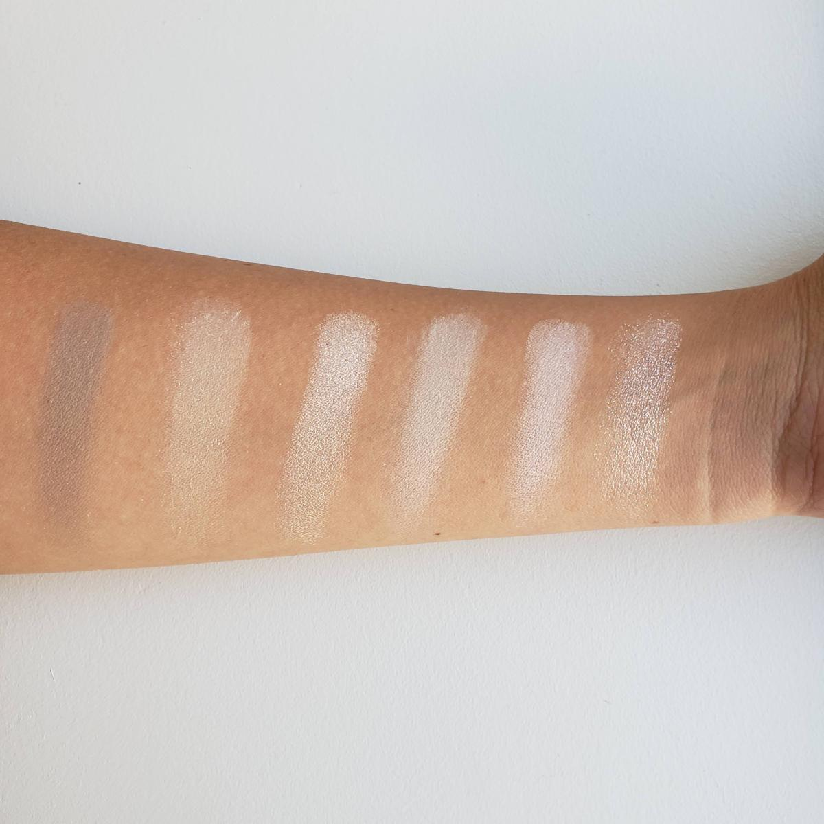 Jeffree Star Cosmetics Cremated Eyeshadow Palette Review Swatches 4