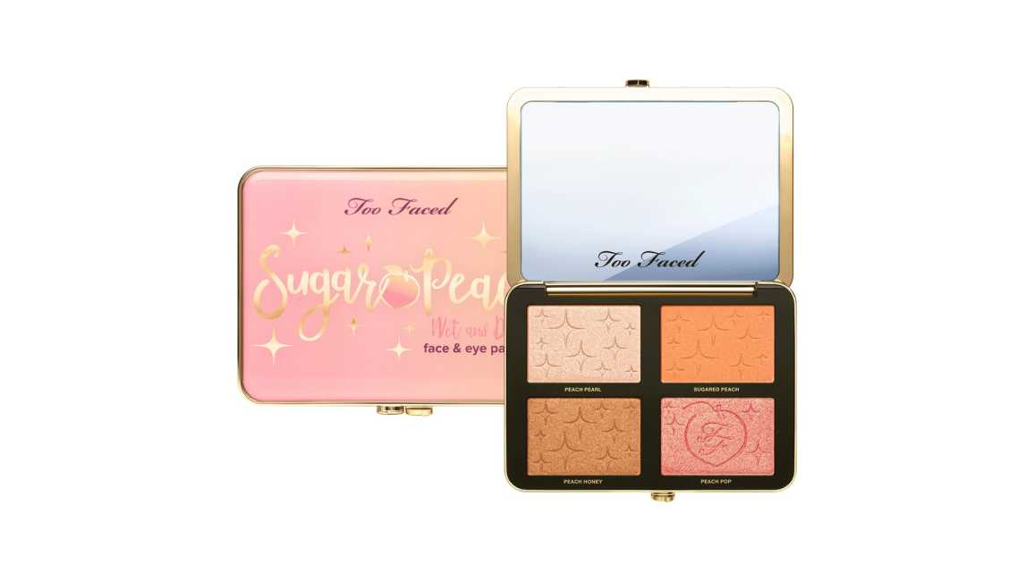 Too Faced Sugar Peach Wet and Dry Face and Eye Palette Release Date