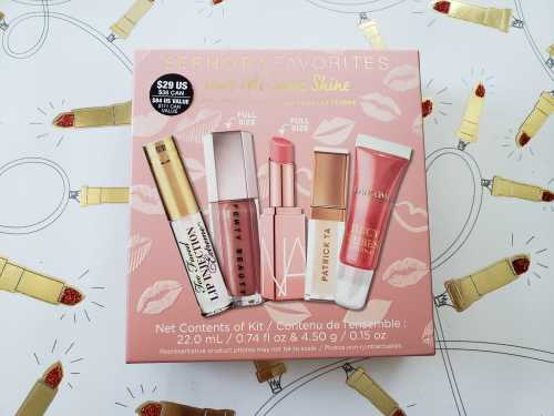 Sephora Favorites Give Me Some Shine Balm and Gloss Lip Set Review and Swatches