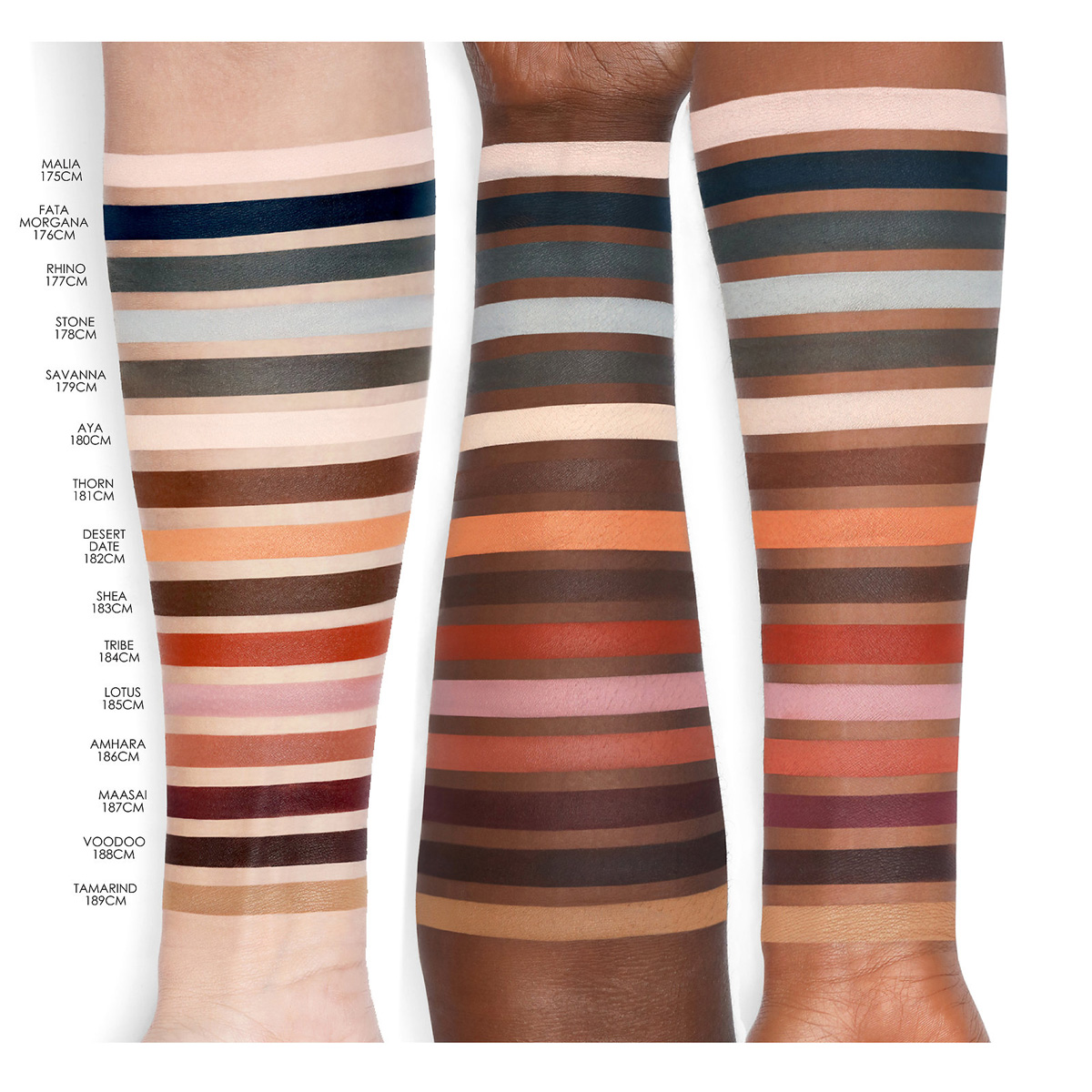 natasha-denona-safari-eyeshadow-palette-swatches