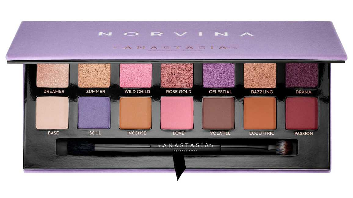ABH Norvina Eyeshadow Palette Available in Canada