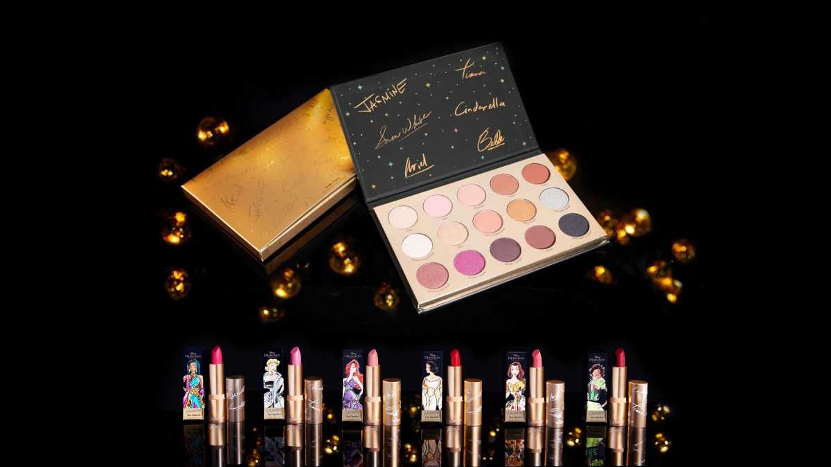 ColourPop x Disney Designer Makeup Collection Release Date and Swatches