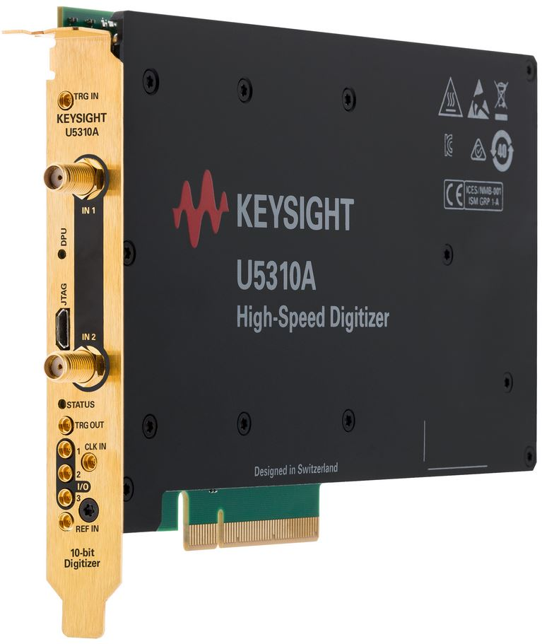 U5310A PCIe high-speed digitiser