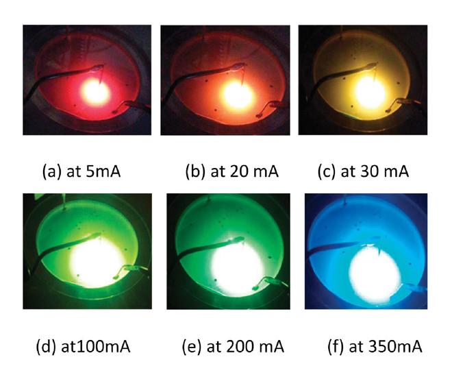 [full colour emissions monolithic LED (cr)]