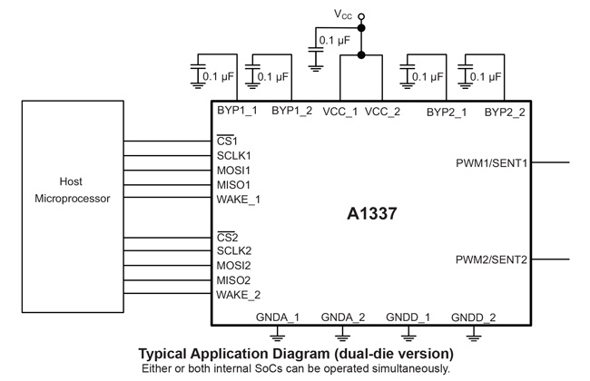 Allegro A1337 Typical Application (cr)